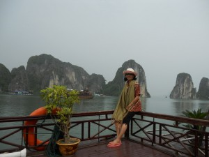 di atas cruise di halong bay